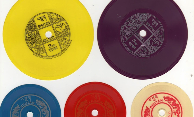 The curious tale of Bhutans playable record postage stamps - The Vinyl Factory 1